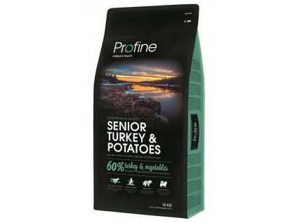 4308 new profine senior turkey potatoes 15kg