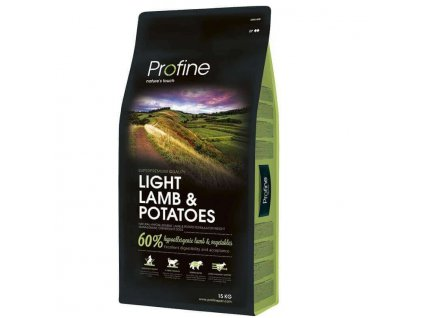 4311 1 new profine light lamb potatoes 15kg