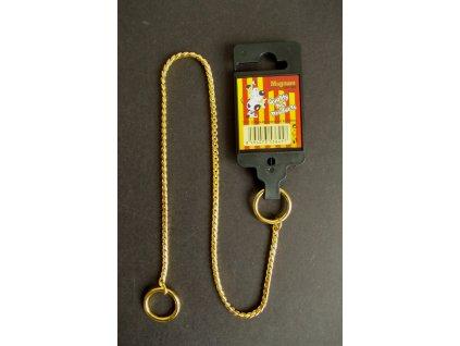 384 obojek stahovaci gold 3mm x 40cm