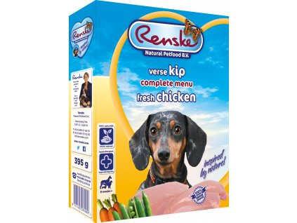 renske fresh menu dog 395g adult kureci
