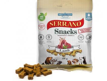 Serrano Snacks Mediterranean Natural lamb cordero bolsita