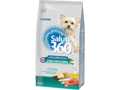salute dog adult ryba brambor small 1 8kg