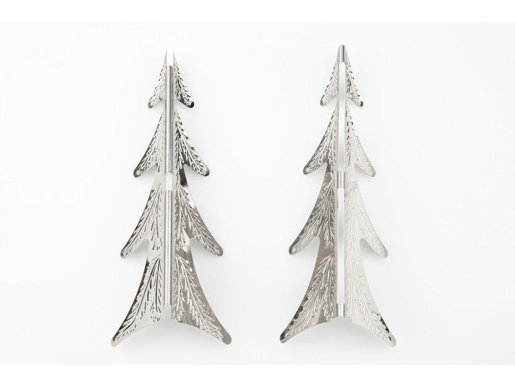 Díly stromku  - stříbrná varianta