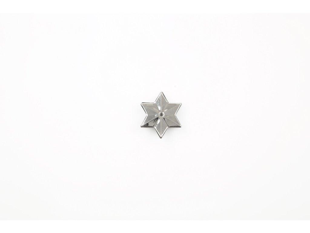 Hvězda - stříbrná varianta