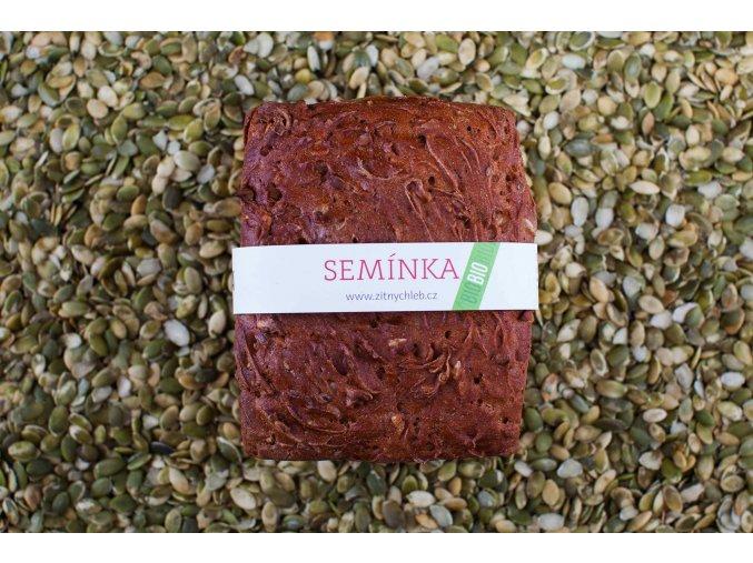 Koláčkův žitný semínkový chléb malý 550g