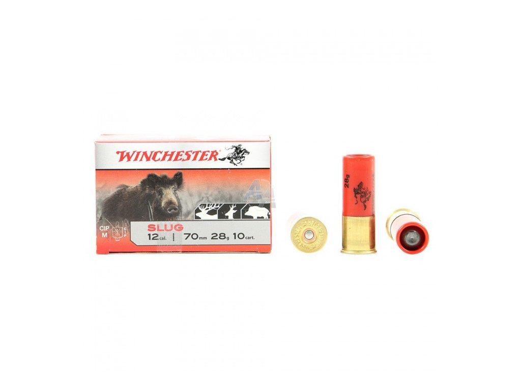 12/70 Winchester Slug 28g  10 ks