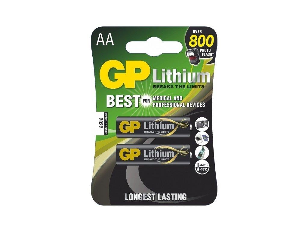 Baterie AA GP lithium