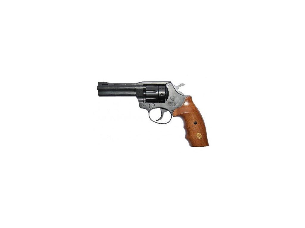 Revolver Alfa 641 6mm flob (střenky dřevo)