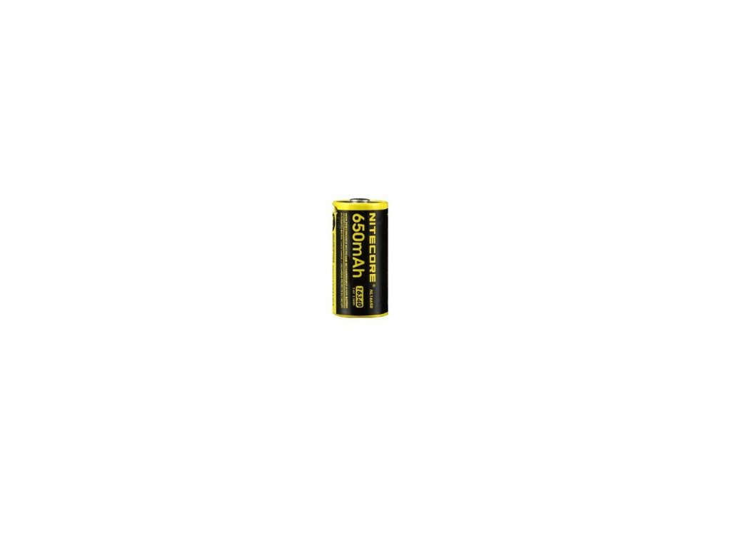 baterie CR123A nabíjecí NITECORE NL1665R