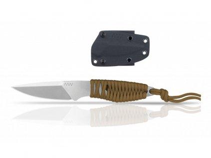 Nůž ANV P100-Kydex Sheath Black/Flat Dark Earth