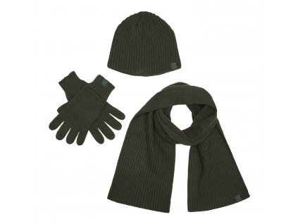 Deerhunter zimní set - čepice+rukavice+šála