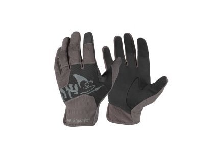 Helikon rukavice All Round Fit Tactical light black/shadow grey