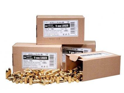 9mm Luger 250KS  SB 7,5g FMJ  250 ks