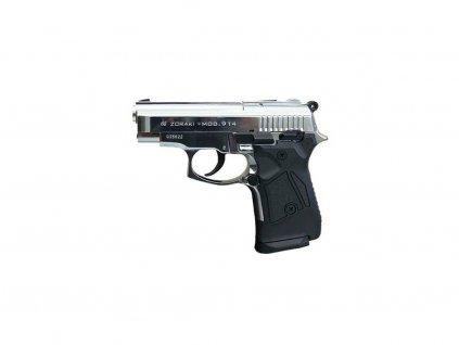 Plynová pistole Zoraki 906 chrom