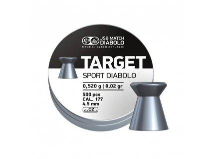 Diabolky 4,5mm JSB Target Sport 500 ks