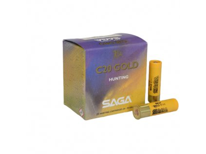 20/70 Saga Slug Gold Star 22g  25 ks