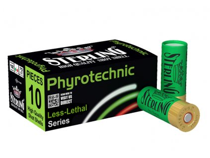 12/70 STERLING pyrotechnic 3 colors  25 ks