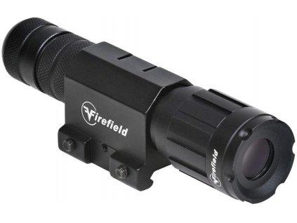 Firefield svítilna na zbraň 5mw zelený laser FF25004