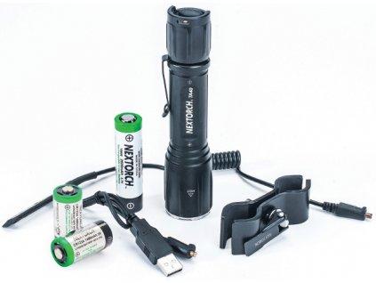 Nextorch svítilna TA40 Magnetic set