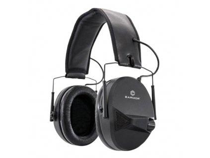 Sluchátka elektronická EARMOR M30 Tactical Black