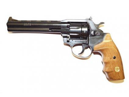 revolver Alfa 661 flo 6mm dřevo