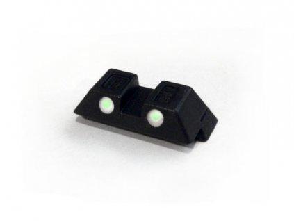 Glock hledí ocelové zelené G42/43
