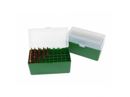 Krabička na náboje ráže 338 -300 wm na 50 ks