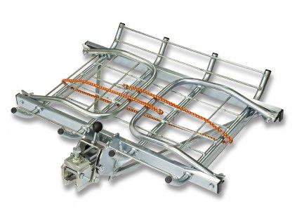 Nosič zvěře na tažné zařízení VARIO II stříbrný - sklopný rozkládácí