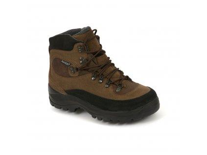 Hanzel boty DG022 tmavě hnědé -
