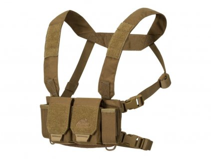 Helikon Hrudní nosič - Chest rig - Competition Multi Gun Rig coyote