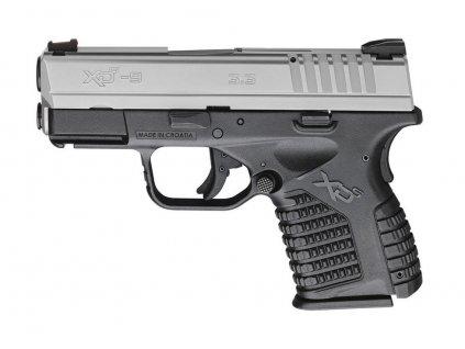 HS S5 pistole .45 ACP černo-stříbrná