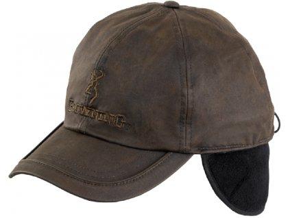 Čepice Browning hnědá voskovaná