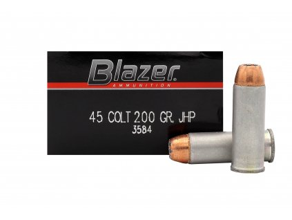 45 Colt Blazer 200 gr JHP  50 ks