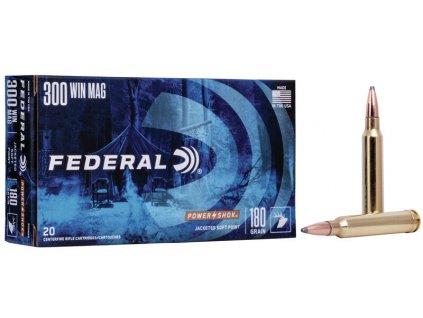300 Win.Mag Federal SP 180gr  20 ks
