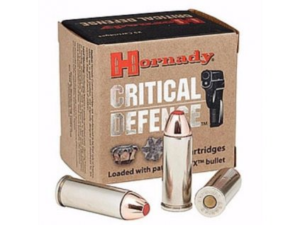 38 Spec +P Hornady Critical Defense 110gr FTX CD  50 ks
