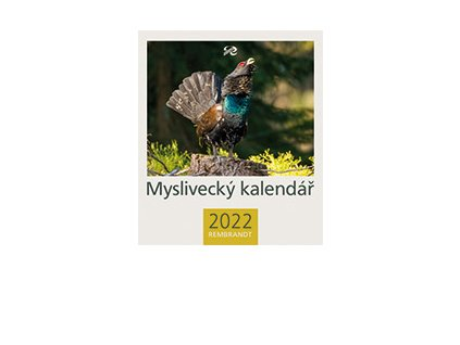 kalendář stolní Myslivecký 2022 Rembrandt