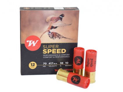12/70 3,5mm 36g Winchester Super speed 417m/s 36g  10 ks