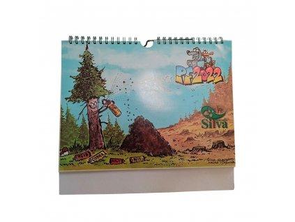 kalendář Silva Bohemica 2022