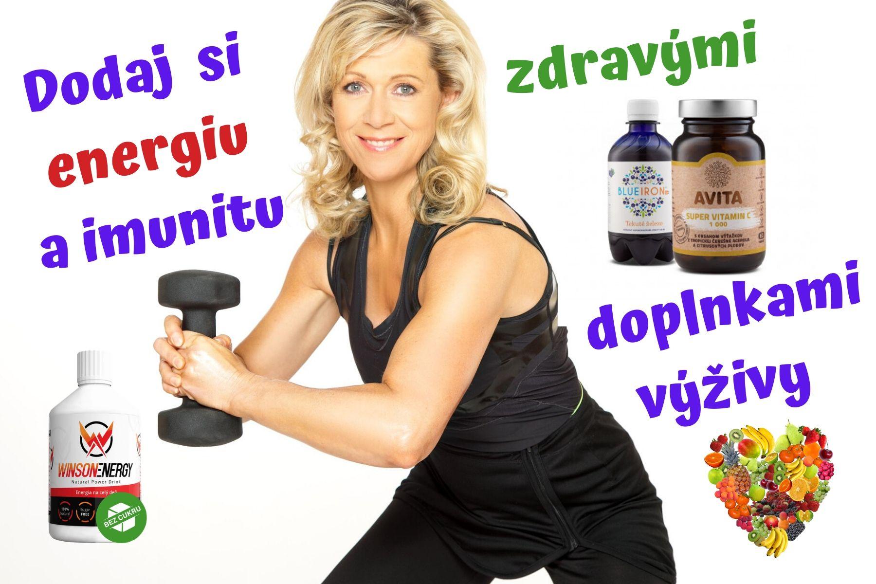 Dodaj si energiu a imunitu zdravými doplnkami výživy