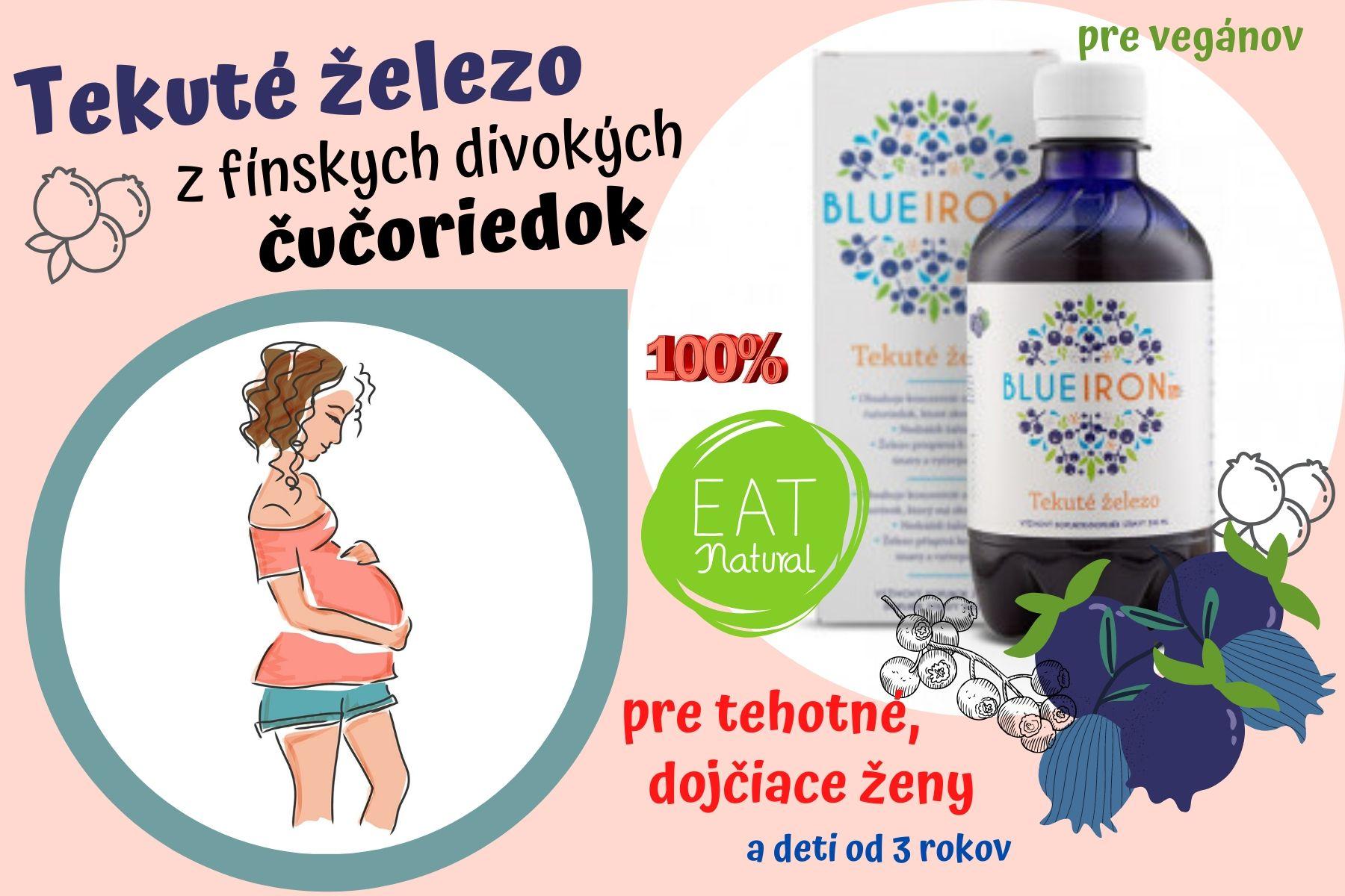 Tekuté železo z fínskych divokých čučoriedok vhodný pre vegánov, tehotné a dojčiace ženy a deti od 3 rokov. 100 % natural