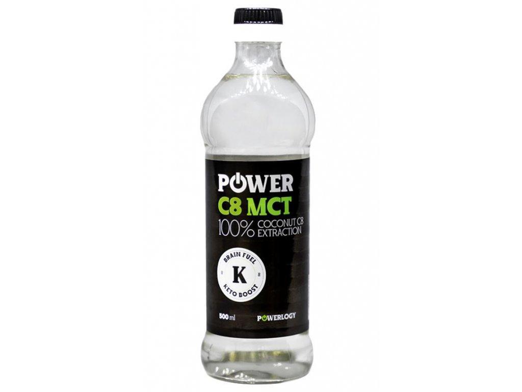 Kokosový olej Power MCT C8 500 ml