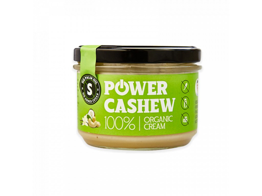 Power cashew krém s kokosom 200 g 1