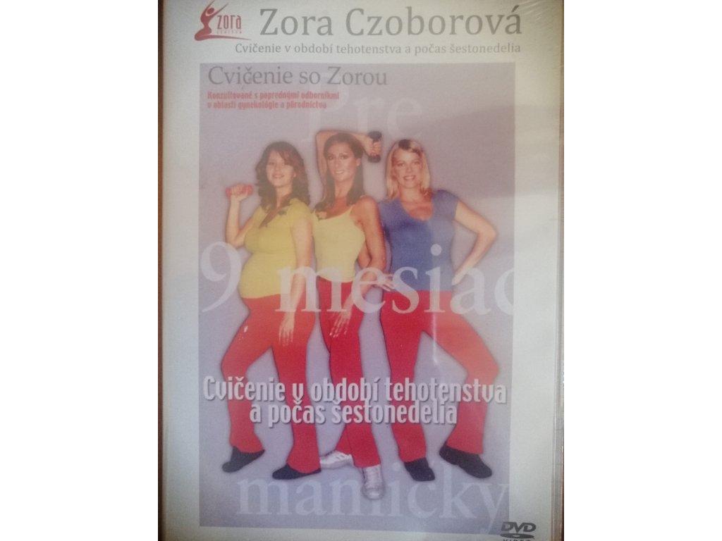 DVD cvičenie v období tehotenstva a šestonedelia
