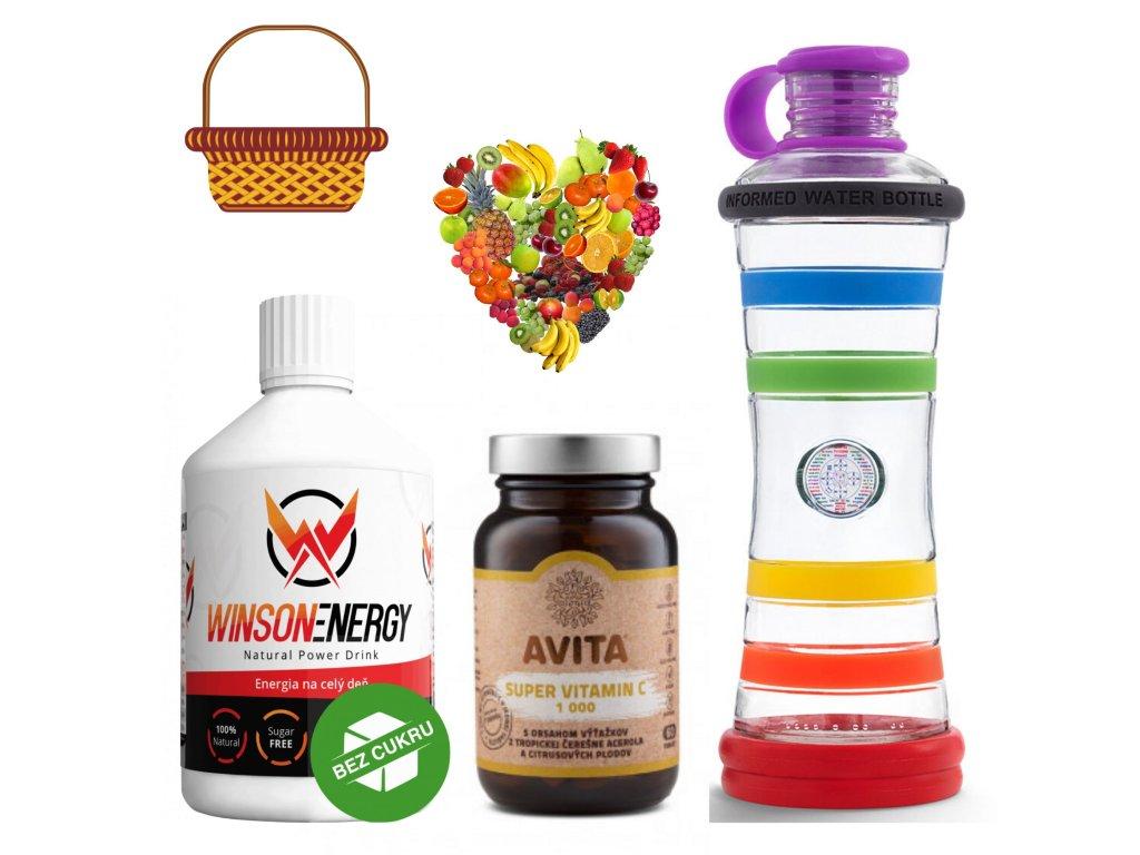 DAR 1 Winson energy,vitamín C a duhová I9 flaša