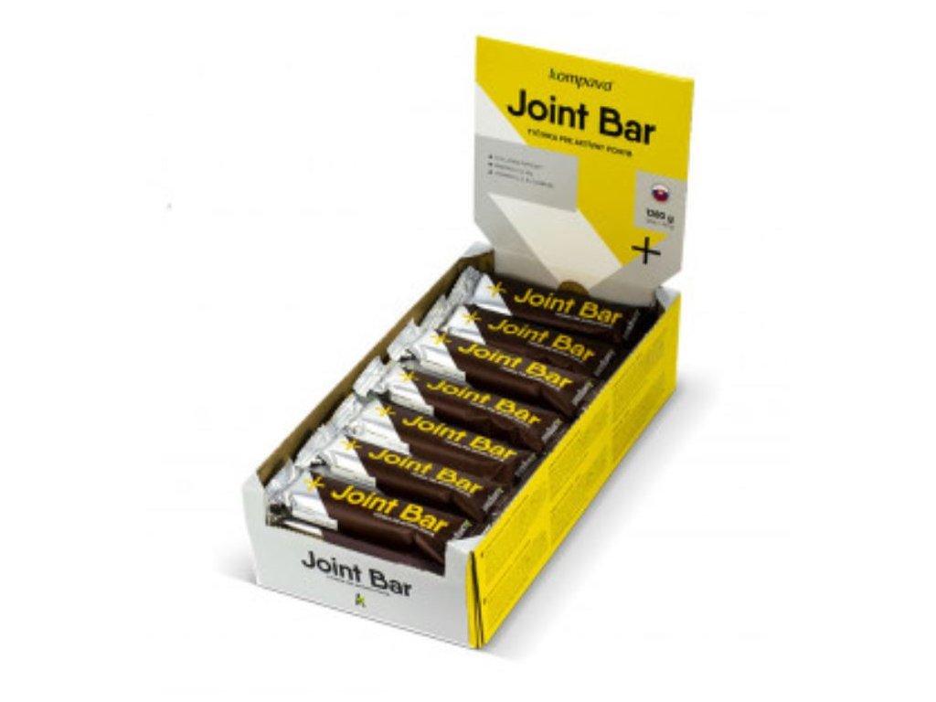Kompava klbova tycinka ČOKOLADA BANAN Joint bar klbova 40 g balenie 32 ks
