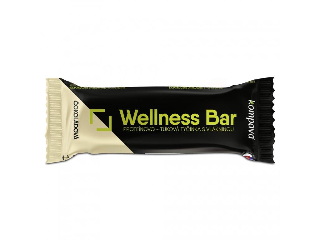 wellness bar tycinka cokolada 60 g