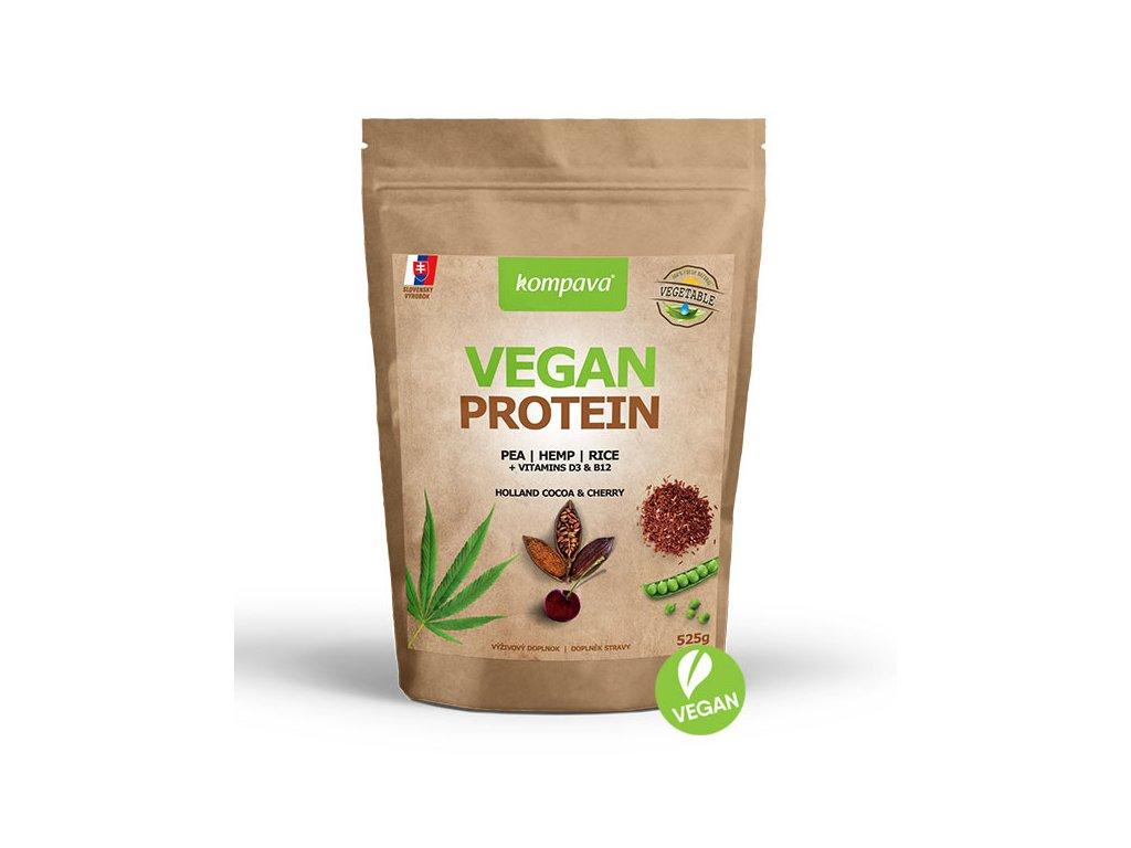 vegan protein višňa 525 g