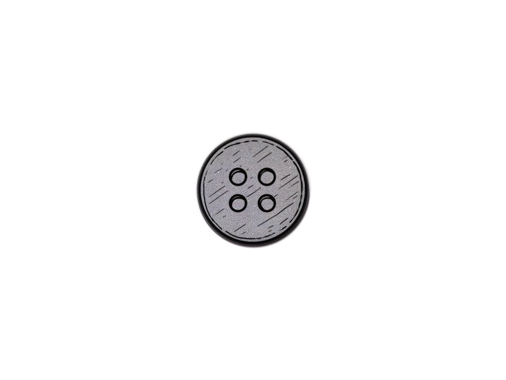 reflexný odznak gombík button
