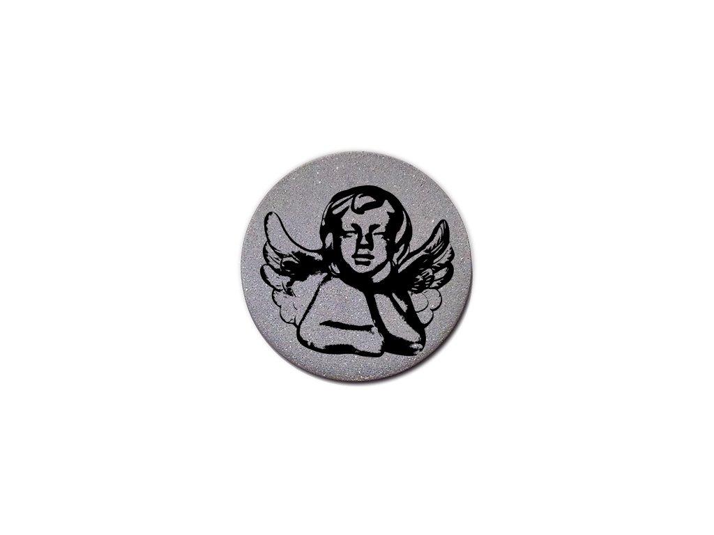 reflexný odznak anjel angel andel
