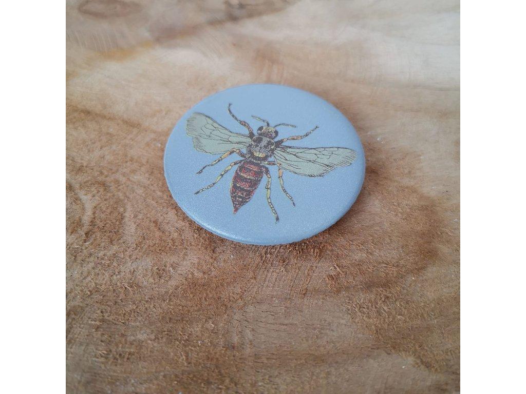 reflexná ochrana včielka